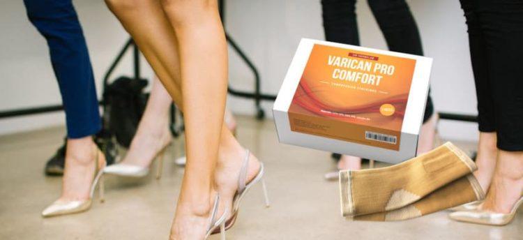 Egészséges lábak visszerek nélkül a Varican Pro Comfort szalagoknak köszönhetően? Vélemények és a termék leírása.