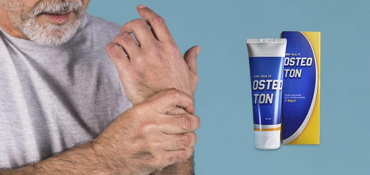 Crema Osteoton: Abbiamo controllato le attuali informazioni 2019 sull'ultima crema per dolori articolari.
