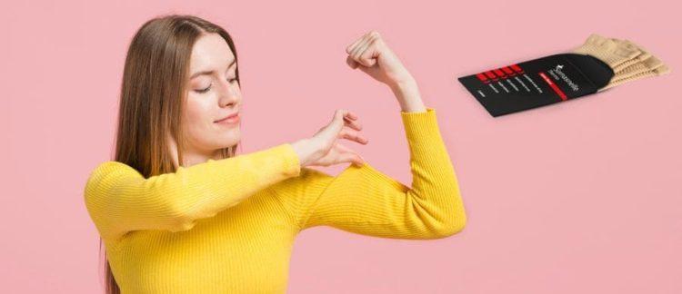 Стегнати мишници за всички възрасти със Somasnelle Sleeve. Отзиви и описание на продукта